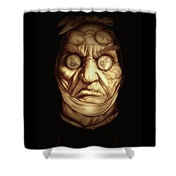 Jacob Marley Shower Curtain by Fred Larucci