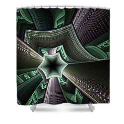 Jade Empress Shower Curtain