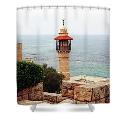 Shower Curtain featuring the photograph Jaffa Israel by Denise Moore