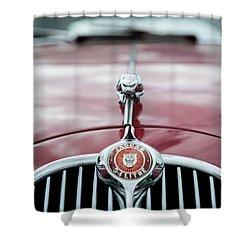 Jaguar Grille Shower Curtain
