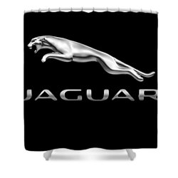 Jaguar Logo Shower Curtain