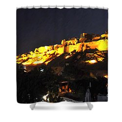 Jaisalmer Desert Festival-3 Shower Curtain