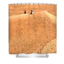 Jaisalmer Desert Festival-4 Shower Curtain