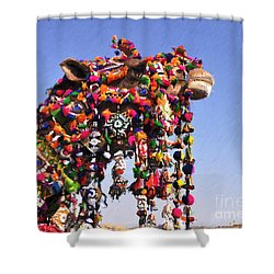 Jaisalmer Desert Festival-5 Shower Curtain