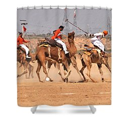 Jaisalmer Desert Festival-7 Shower Curtain