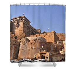 Jaisalmer Desert Festival-9 Shower Curtain