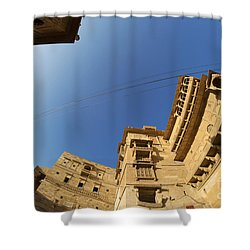 Shower Curtain featuring the photograph Jaisalmer Fort by Yew Kwang