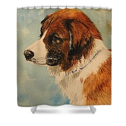 Jake Shower Curtain by Betty-Anne McDonald