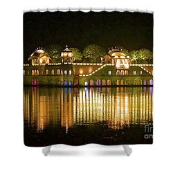Jal Palace At Night Shower Curtain