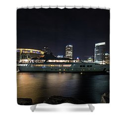 Jamaica Bay Shower Curtain