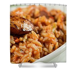 Jambalaya Shower Curtain