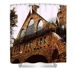 James Bishop's Castle Shower Curtain