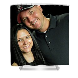 James Humphrey And Heather Humphrey Shower Curtain