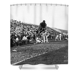 James Jesse Owens Shower Curtain by Granger