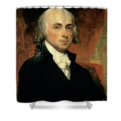 James Madison Shower Curtain by American School