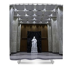 James Madison Memorial Hall Shower Curtain