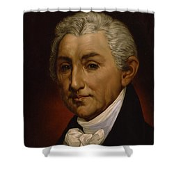 James Monroe - President Of The United States Of America Shower Curtain by International  Images