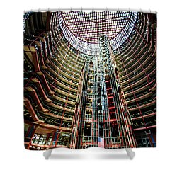 James R Thompson Center Interior Chicago Shower Curtain