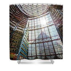 James R Thompson Center Interior II Chicago Shower Curtain