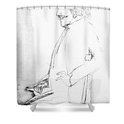 James Whistler's Portrait Shower Curtain