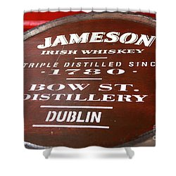 Jameson Dublin Shower Curtain