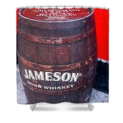 Jameson Irish Whiskey Shower Curtain