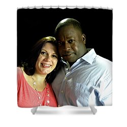 Jamie Lane And Derreck Fields Shower Curtain