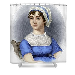 Shower Curtain featuring the photograph Jane Austen by Granger