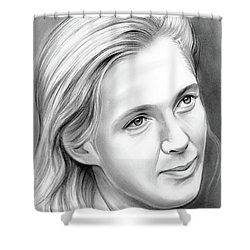 Jane Goodall Shower Curtain