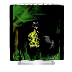Jane Of The Jungle Shower Curtain