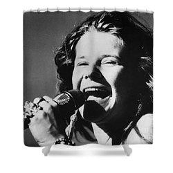 Janis Joplin (1943-1970) Shower Curtain by Granger