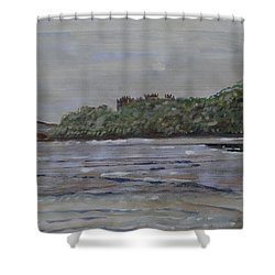 Janjira Palace Shower Curtain