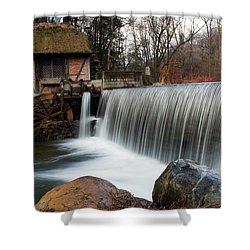 January Morning At Gomez Mill #2 Shower Curtain by Jeff Severson