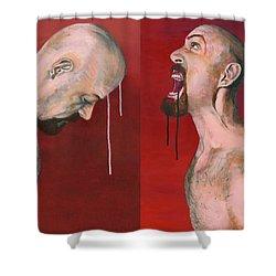 Janus Shower Curtain