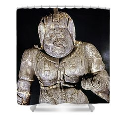 Japan: Buddhist Statue Shower Curtain by Granger
