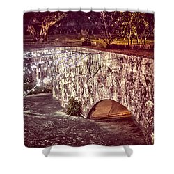 Japanese Bridge Shower Curtain