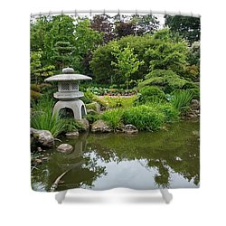 Japanese Garden -2. Shower Curtain