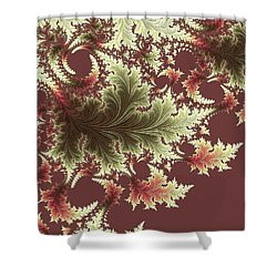 Japanese Garden I Shower Curtain by Susan Maxwell Schmidt