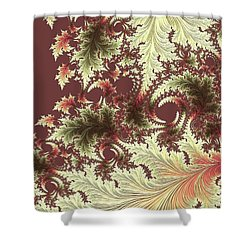 Japanese Garden Il Shower Curtain by Susan Maxwell Schmidt