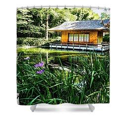Japanese Gardens II Shower Curtain