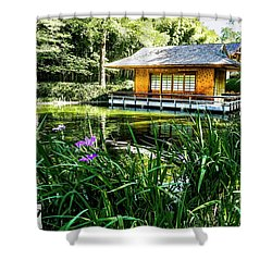 Japanese Gardens II Shower Curtain