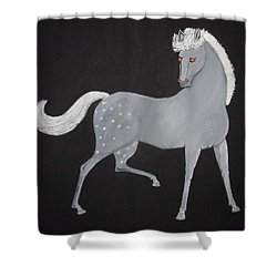 Japanese Horse 2 Shower Curtain