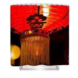 Japanese Lantern 1 Shower Curtain