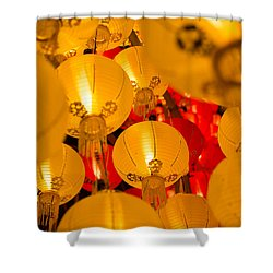 Japanese Lantern 3 Shower Curtain