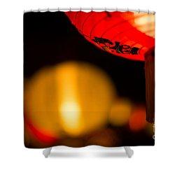 Japanese Lanterns 2 Shower Curtain