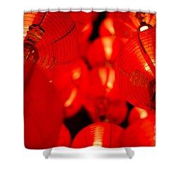 Japanese Lanterns 6 Shower Curtain