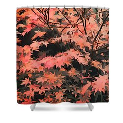 Japanese Maple - Nature Art Shower Curtain