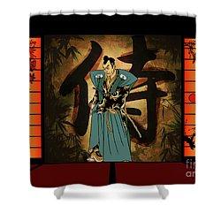 Japanese Style Shower Curtain