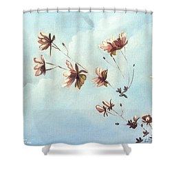 Japonicas Shower Curtain