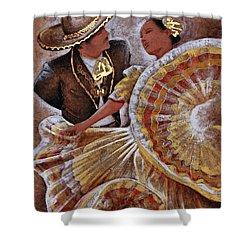 Jarabe Tapatio Dance Shower Curtain